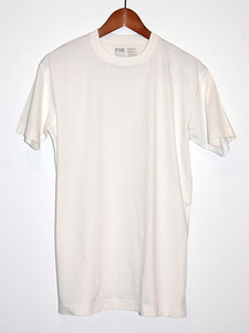 White Crew Tee