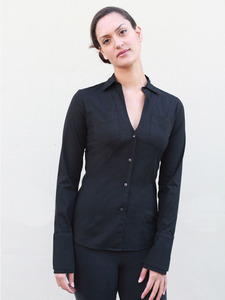 The Modern Black Shirt