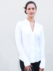 The Modern White Shirt