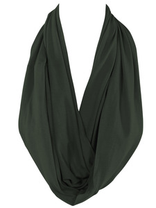 Olive Green Infinity Scarf