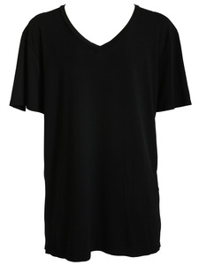 Short-Sleeved V-Neck Tee