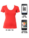Qr-code-modern-red-tee