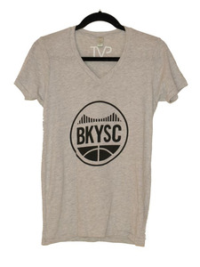 BKYSC Heather V-Neck