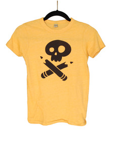 Girls Story Pirates Yellow Tee