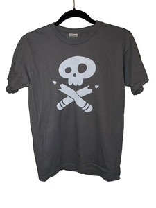 Girls Story Pirates Charcoal Tee