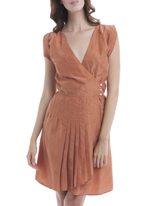 Dahlia Vintage Silk Kate Dress