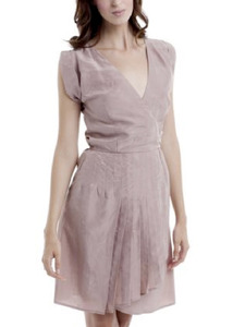 Slipper Pink Vintage Silk Kate Dress