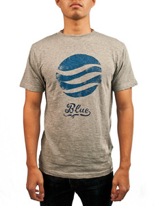 Men's Blue World Tee