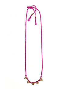 Better Than Geometry Pink Necklace