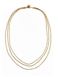 Trinity Gold Necklace