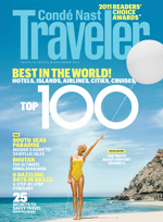 Conde Nast Traveler cover