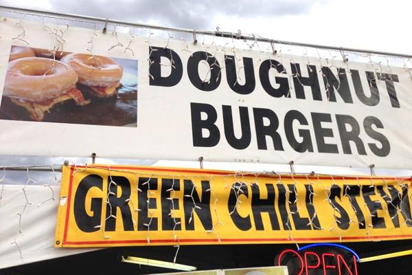 doughnut burgers