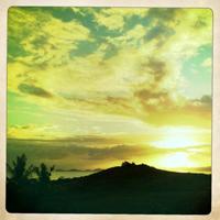 Fiji sundown