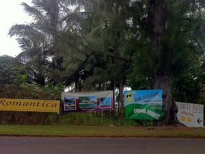 Hana Roadside Advertising