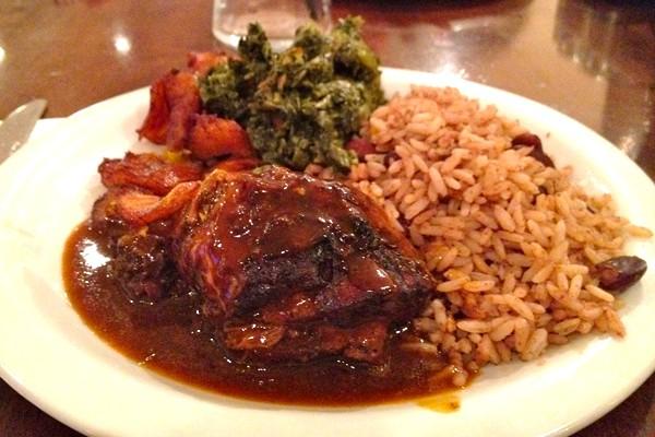 Jamaican dinner