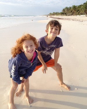 Kids in Tulum