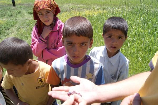 Tajik kids