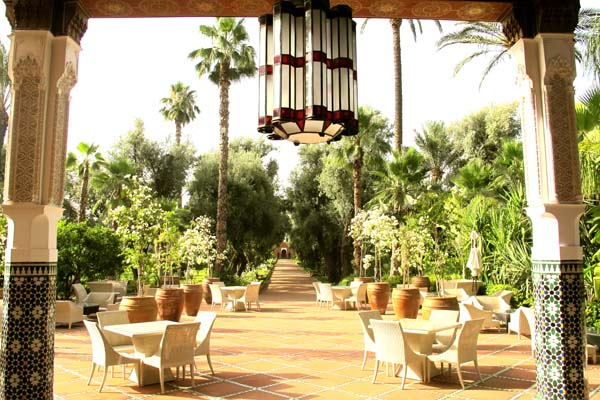 La Mamounia Patio