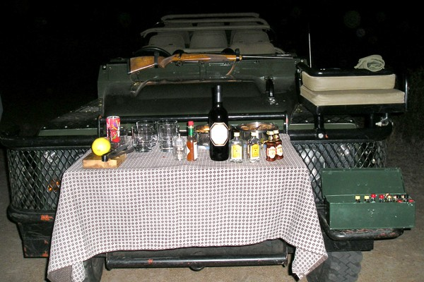 Londolozi sundowners