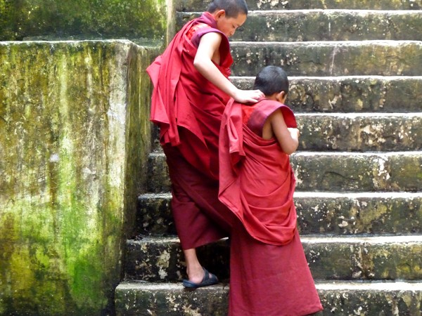 Bhutanese monks
