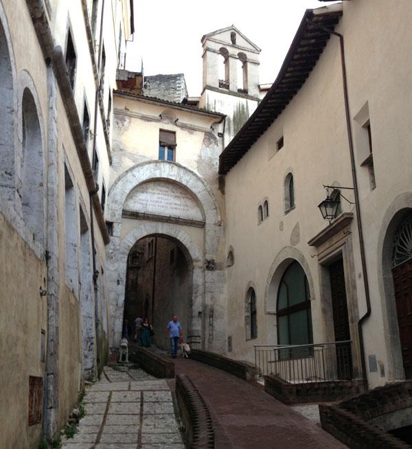 Spoleto Streets