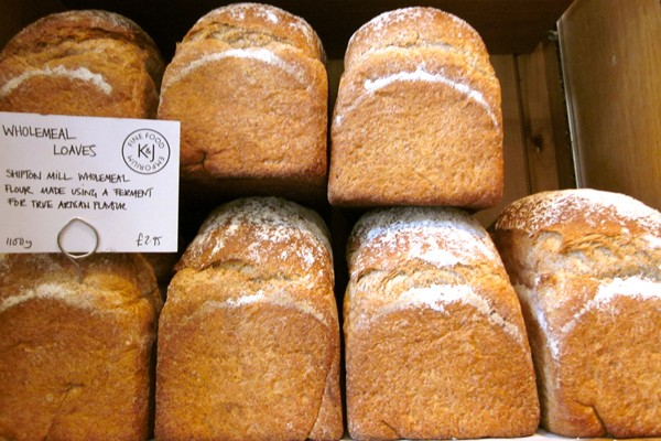 Fresh Baked Bread at Kember & Jones