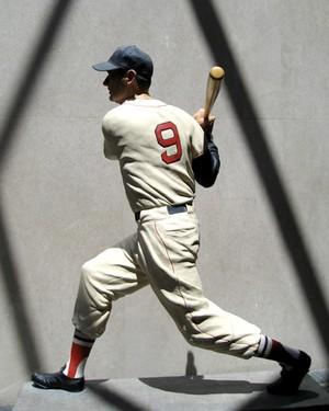 Baseball Statue