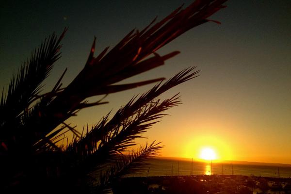 Sunset in Costa Baja