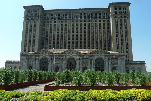 Detroit Train Station