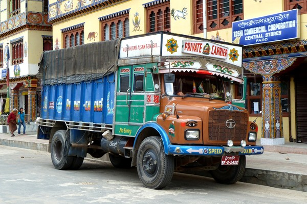 Bhutan trucks