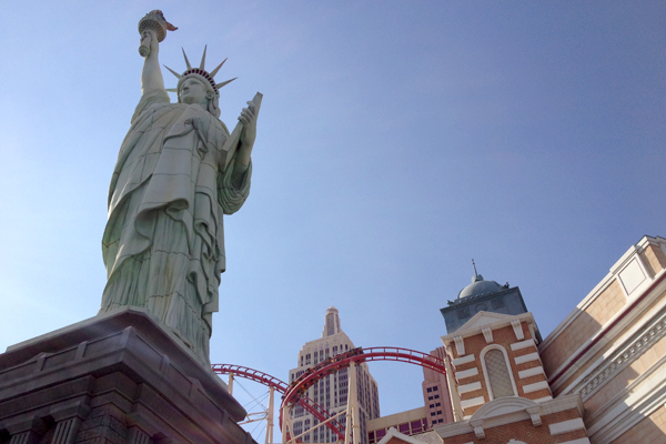 Lady Liberty in Las Vegas