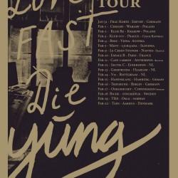 Yung announce a string of European tour dates