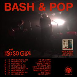 Bash & Pop Announce Tour Dates In January