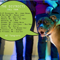 The Districts Announce Fall Tour