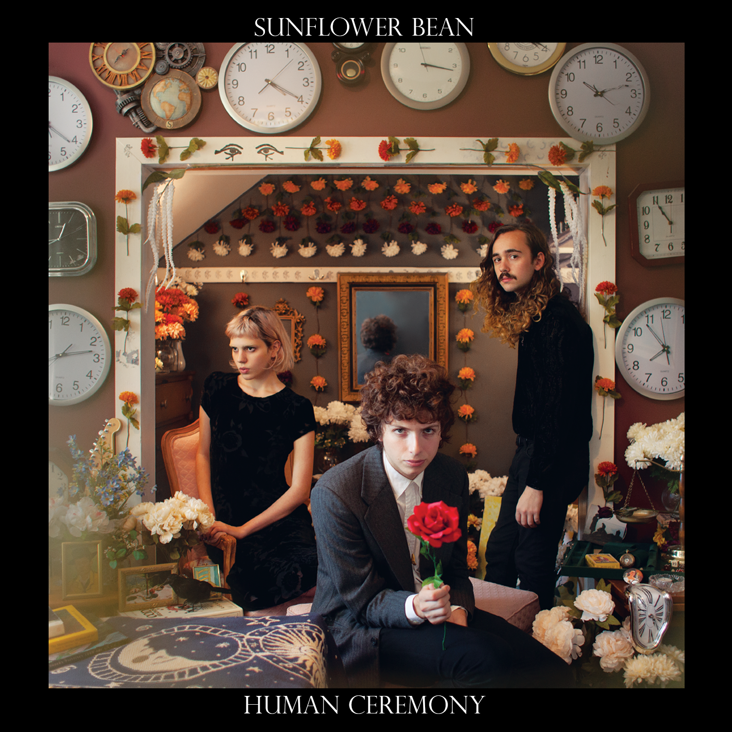 Sunflower Bean - Human Ceremony - album cover (1500x1500)