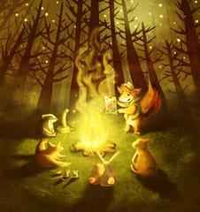 Campfire_print