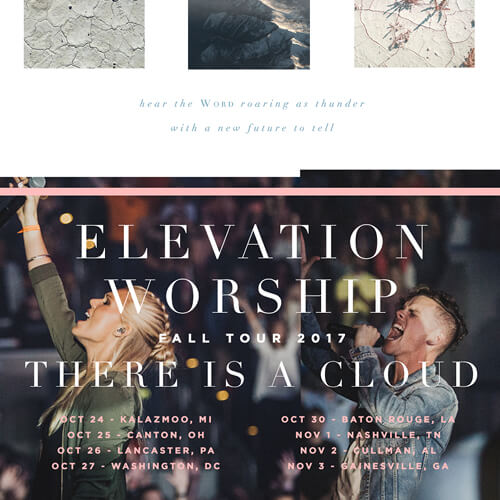 Elevation Worship There is a Cloud Tour - Gainesville at Free Chapel - November 3 at 7:00pm