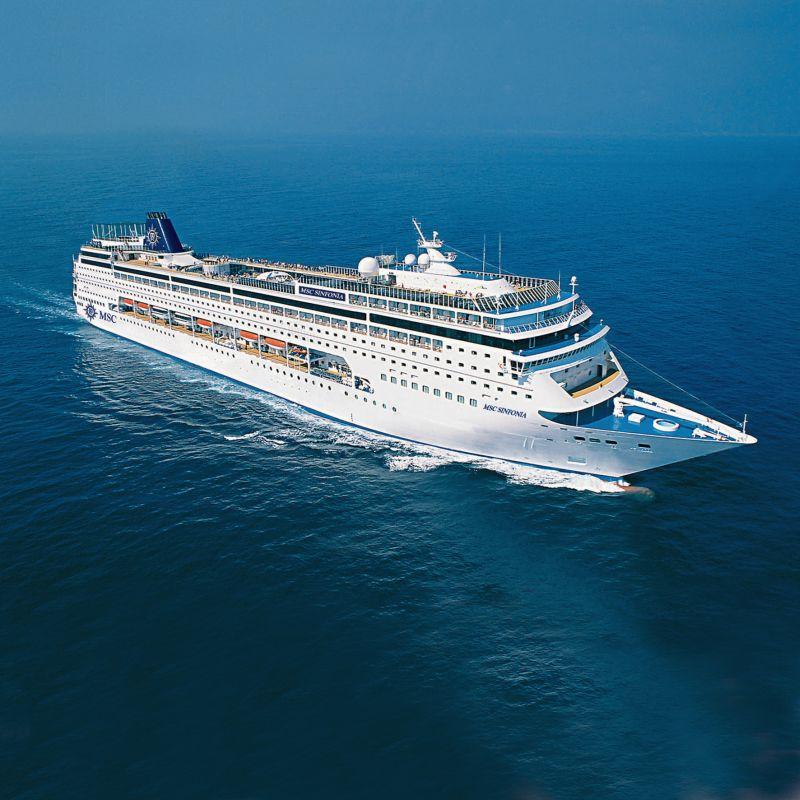 4-Night Maputo & Portuguese Island Cruise : MSC Sinfonia