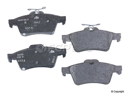 Volvo Brake Pads (S40 V50 C70 C30) - Genuine Jaguar C2C027271 | FCP ...