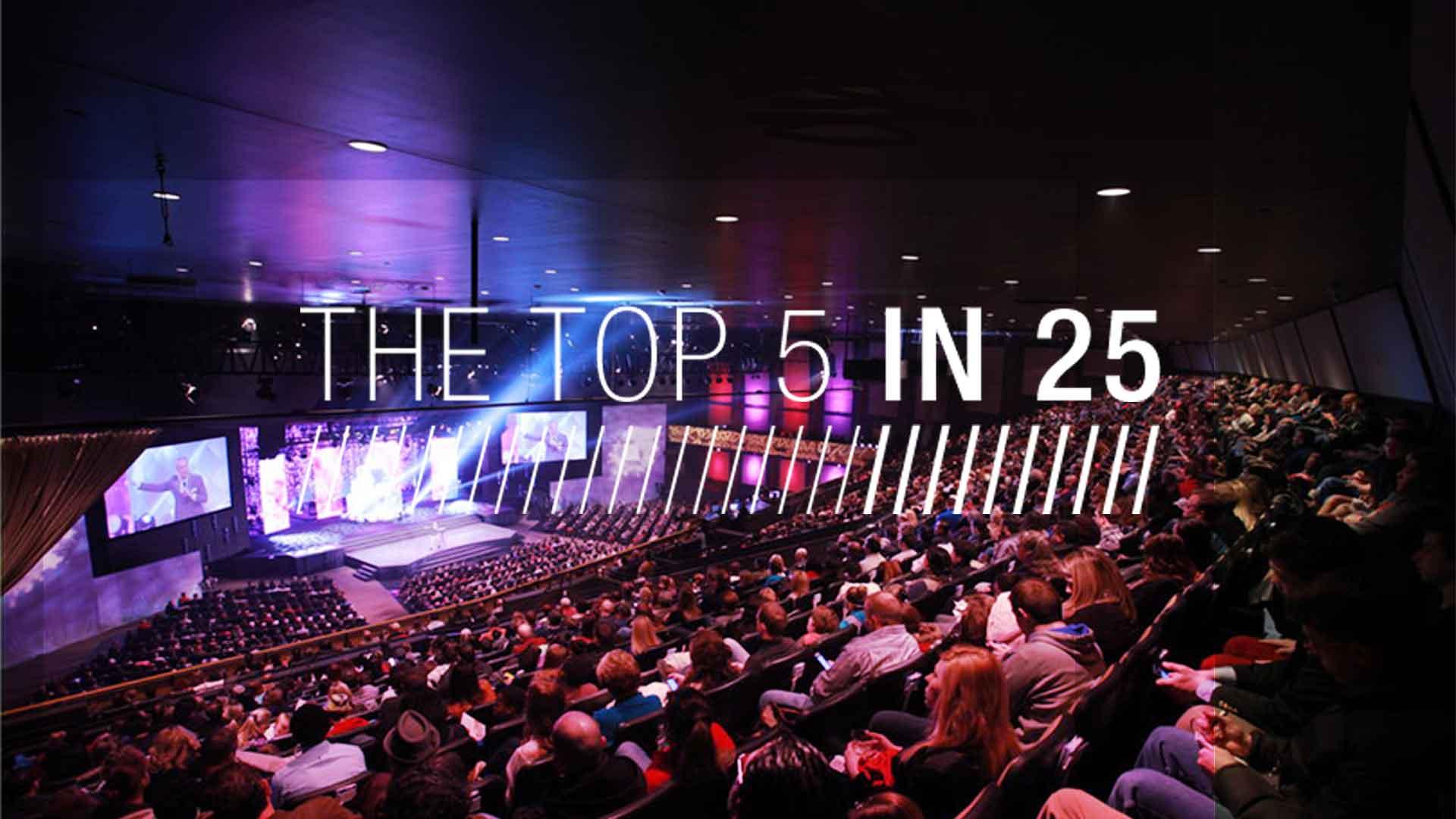 Top 5 in 25