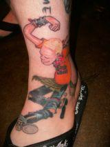Tattoo by Joe Frink