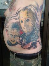 Tattoo work by Sir Nick