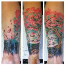 Tattoo work by Bo