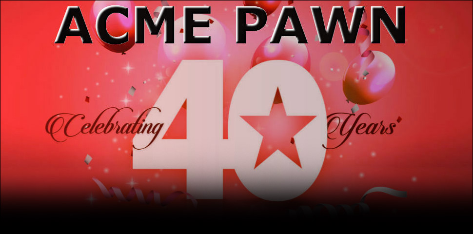 Acme Pawn Shop in Colorado Springs is family owned celebrating 40 years