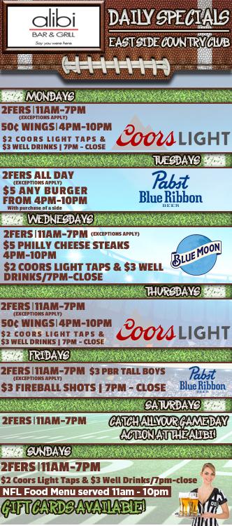 Alibi Bar & Grill - Sioux Falls, SD