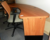 Oval Shaped Desk