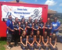 14U - 2nd Place DaGirlz
