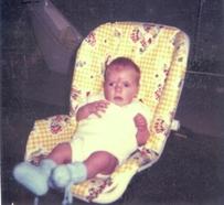 Joel as a baby
