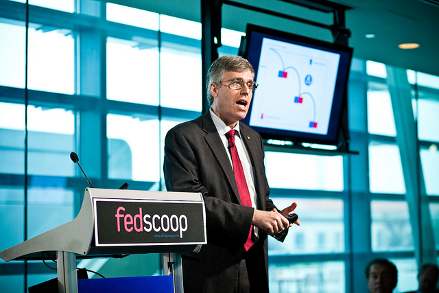 VA Senior Advisor to the Secretary and CTO Dr. Peter Levin at the Red Hat Government Symposium, November 16, Newseum, Washington, D.C.