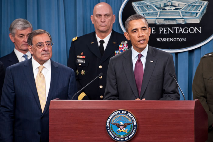 Obama Announces $450B in Defense Cuts